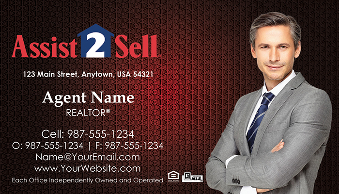 Assist 2 Sell Business Cards #001