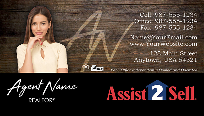 Assist 2 Sell Business Cards #002