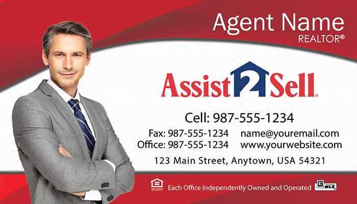Assist 2 Sell Business Cards #003