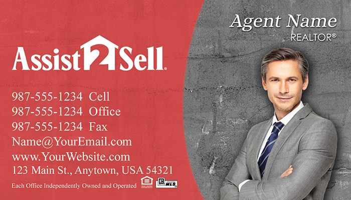 Assist 2 Sell Business Cards #005
