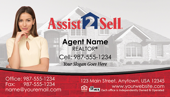 Assist 2 Sell Business Cards #006