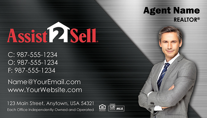 Assist 2 Sell Business Cards #009