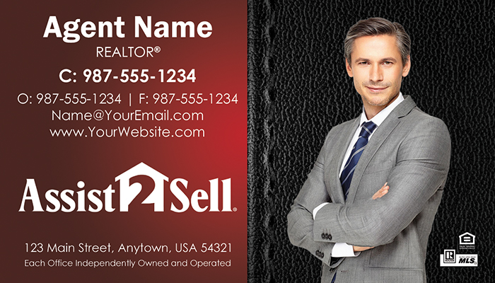 Assist 2 Sell Business Cards #011