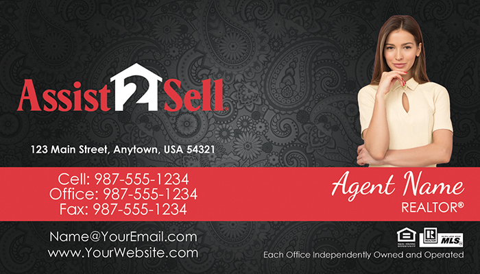 Assist 2 Sell Business Cards #012