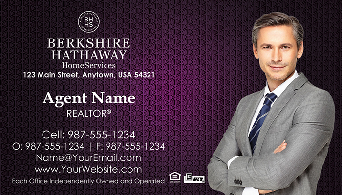 Berkshire Hathaway Business Cards #001