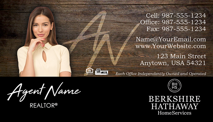 Berkshire Hathaway Business Cards #002