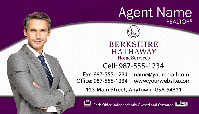 Berkshire Hathaway Business Cards #003