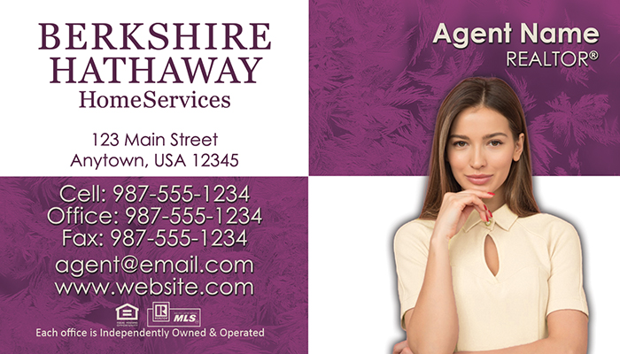 Berkshire Hathaway Business Cards #008