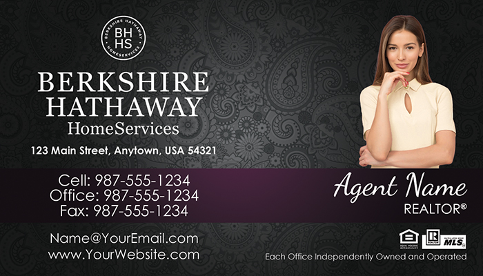 Berkshire Hathaway Business Cards #012