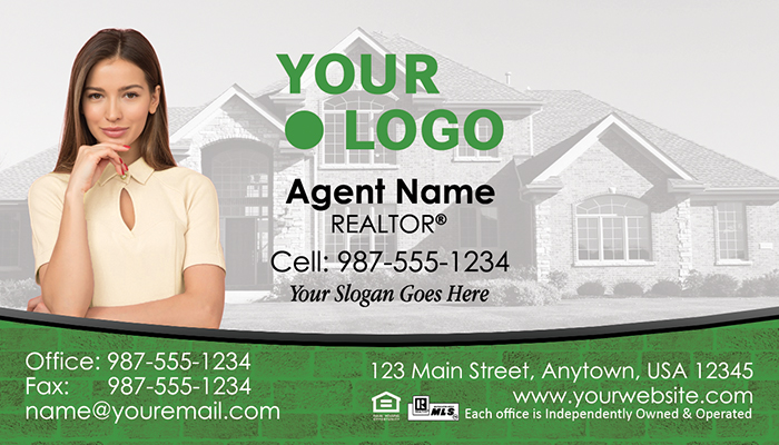 Better Homes and Gardens Real Estate Business Cards #006