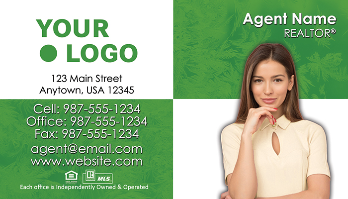 Better Homes and Gardens Real Estate Business Cards #008
