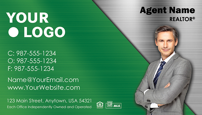 Better Homes and Gardens Real Estate Business Cards #009