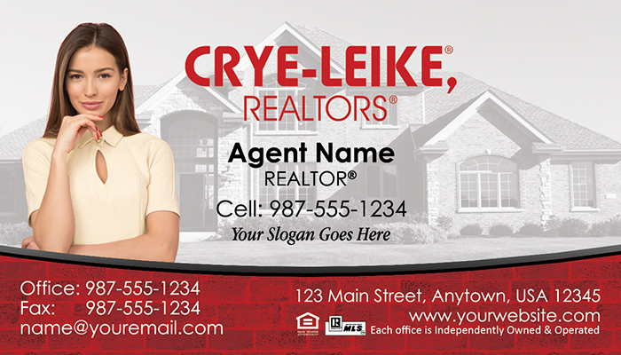Crye-Leike Business Cards #006