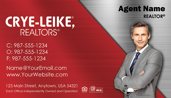 Crye-Leike Business Cards #009