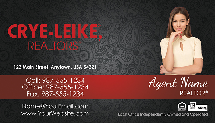 Crye-Leike Business Cards #012