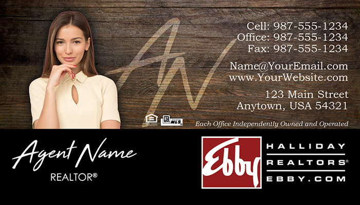 Ebby Halliday Business Cards #002