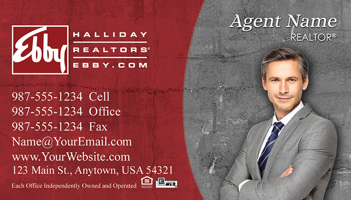 Ebby Halliday Business Cards #005