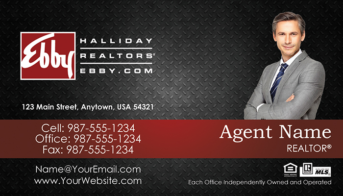 Ebby Halliday Business Cards #007