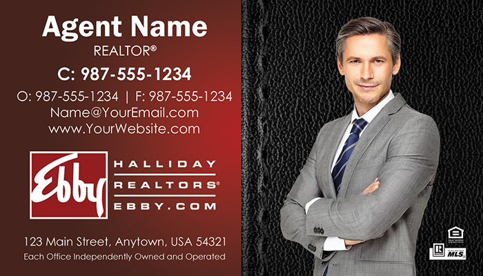 Ebby Halliday Business Cards #011