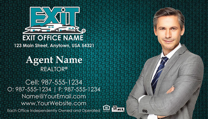Exit Realty Business Cards #001