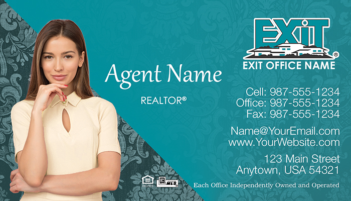 Exit Realty Business Cards #004