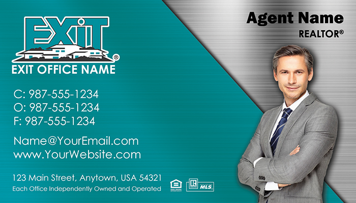 Exit Realty Business Cards #009