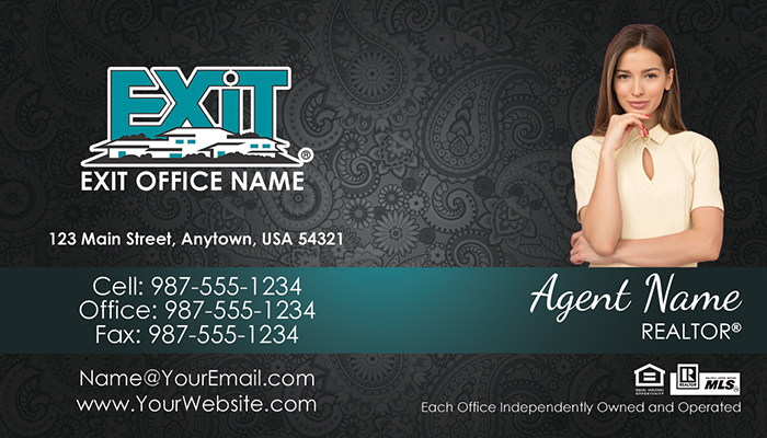 Exit Realty Business Cards #012