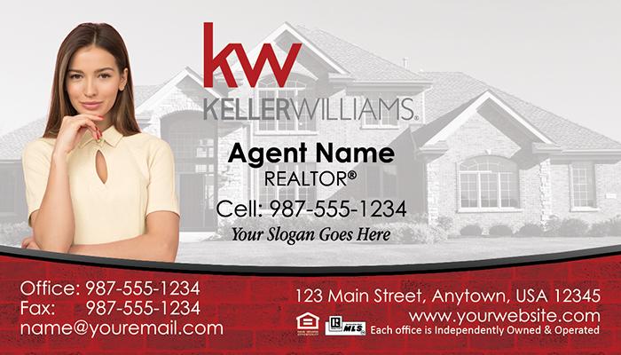 Keller Williams Business Cards #006