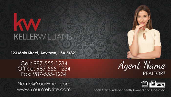 Keller Williams Business Cards #012