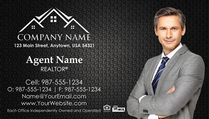 Real Estate Business Cards #001