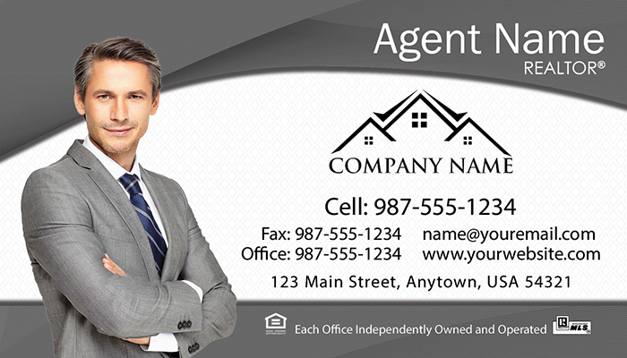 Real Estate Business Cards #003