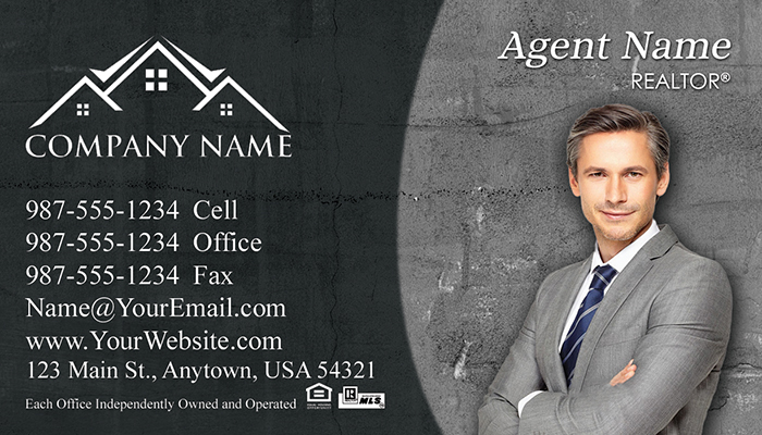Real Estate Business Cards #005