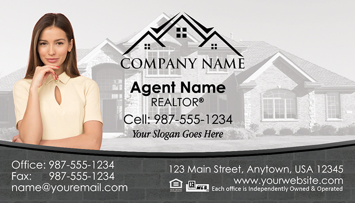 Real Estate Business Cards #006