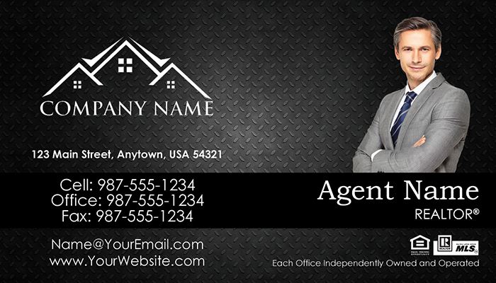 Real Estate Business Cards #007