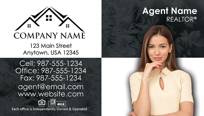 Real Estate Business Cards #008