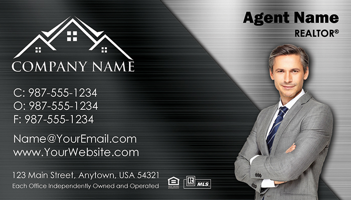 Real Estate Business Cards #009