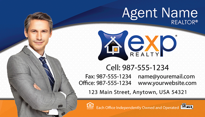 eXp Realty Business Cards #003