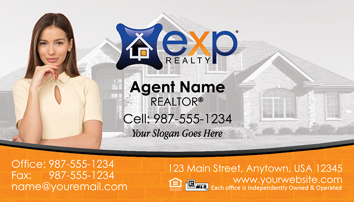 eXp Realty Business Cards #006