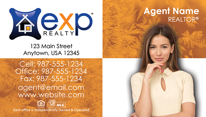 eXp Realty Business Cards #008