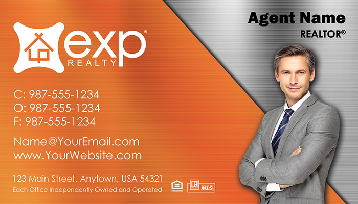eXp Realty Business Cards #009