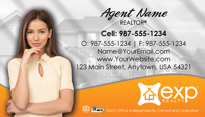 eXp Realty Business Cards #010