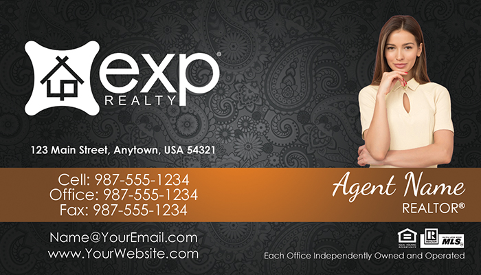 eXp Realty Business Cards #012